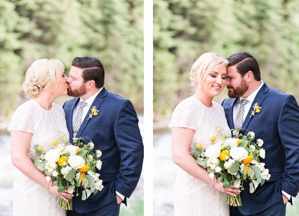 Bride + Groom | A Mountain Destination Wedding in Vail, Colorado