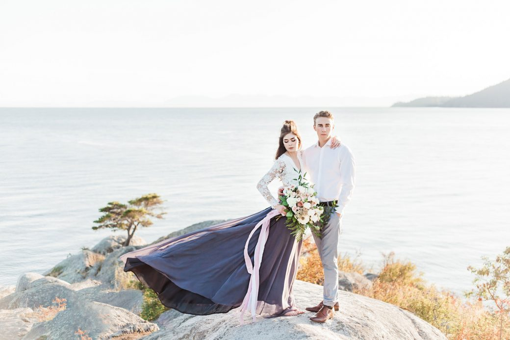 Couple   Ethereal Bridal Shoot Inspired by Light & Water