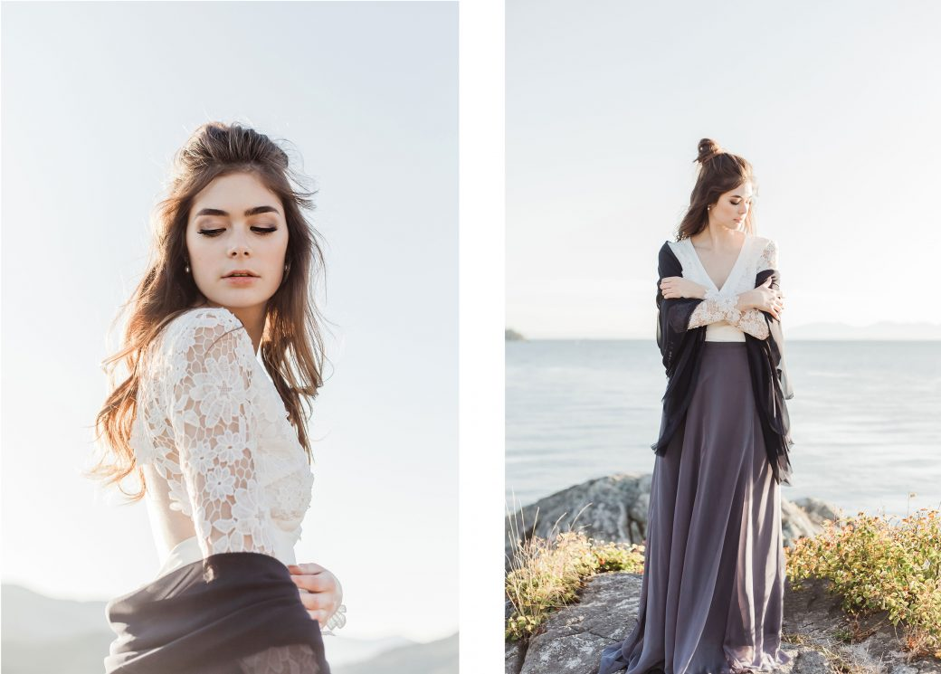 Bride  Ethereal Bridal Shoot Inspired by Light & Water