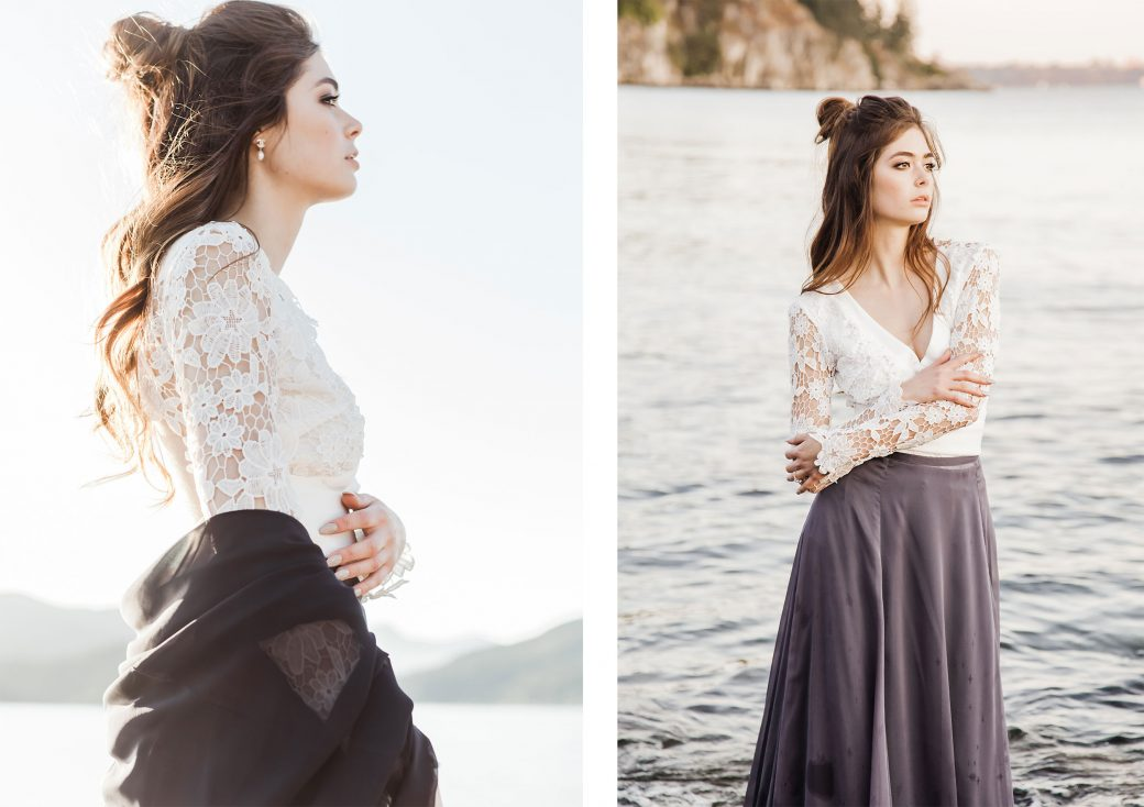 Bride | Ethereal Bridal Shoot Inspired by Light & Water