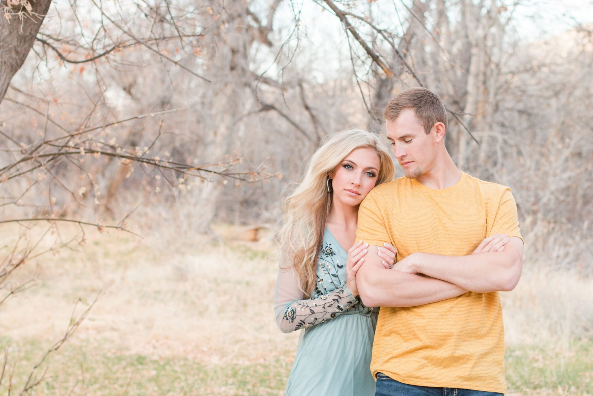 A Fall Engagement Shootin Deer Creek Canyon, Wyoming