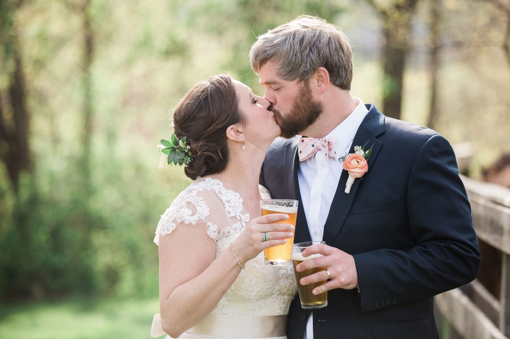Sophisticated Bluegrass & Craft Beer Mountain Wedding in Asheville, North Carolina
