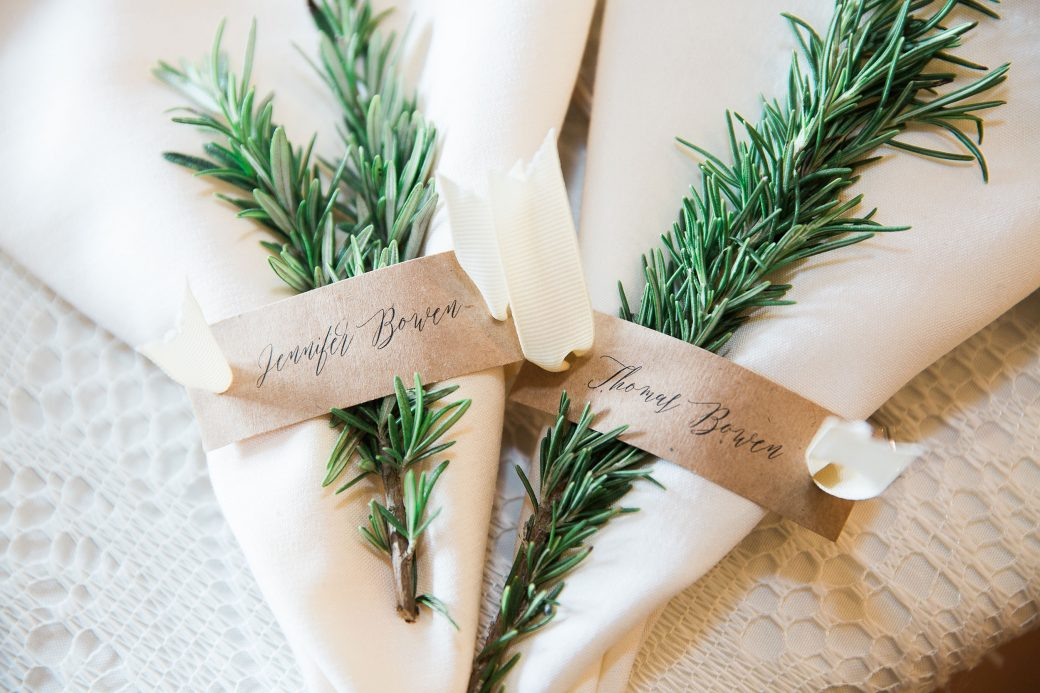 Rosemary escort seating cards