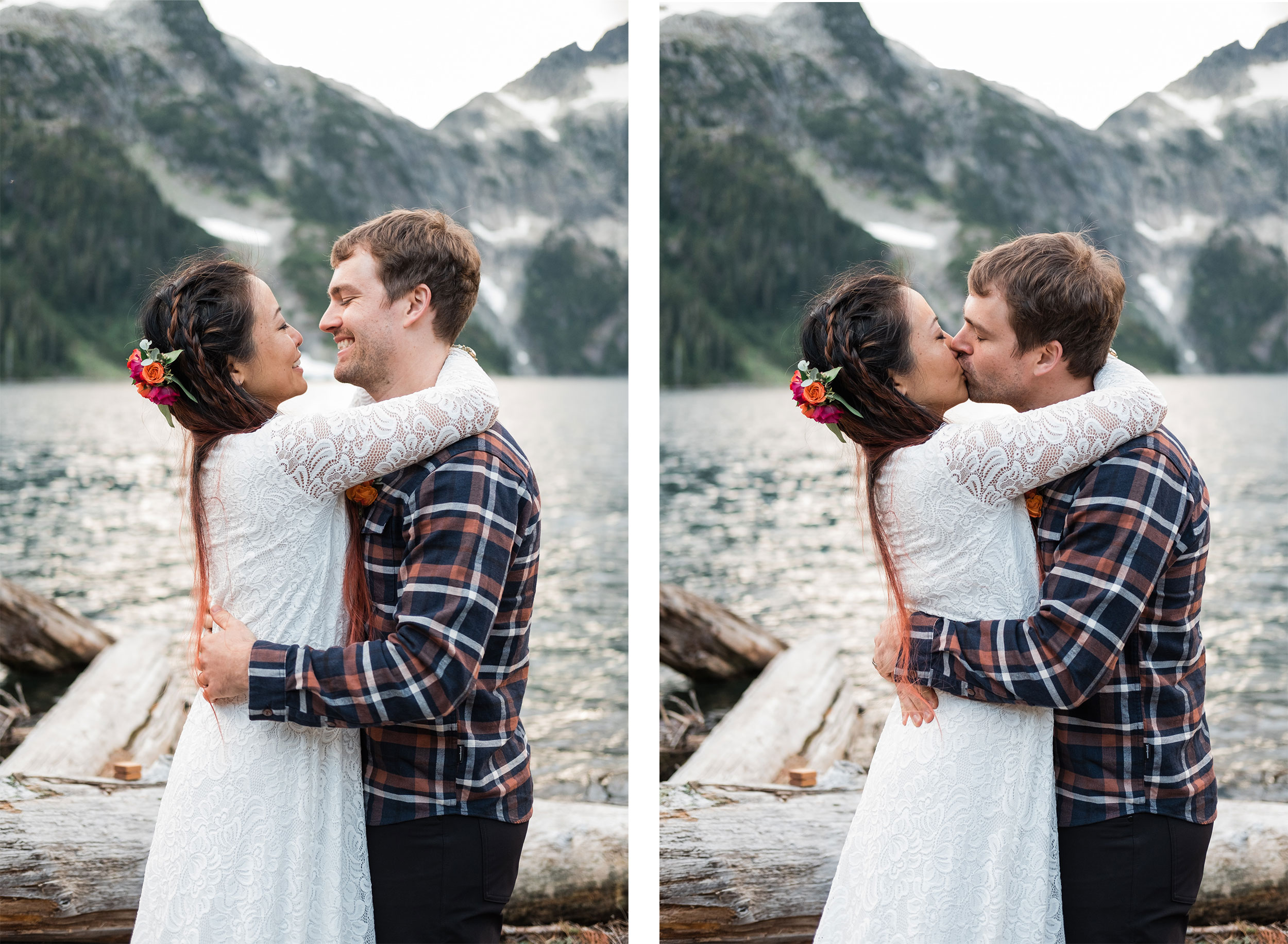 Elopement at Lake Lovely Water | Luxe Mountain Weddings