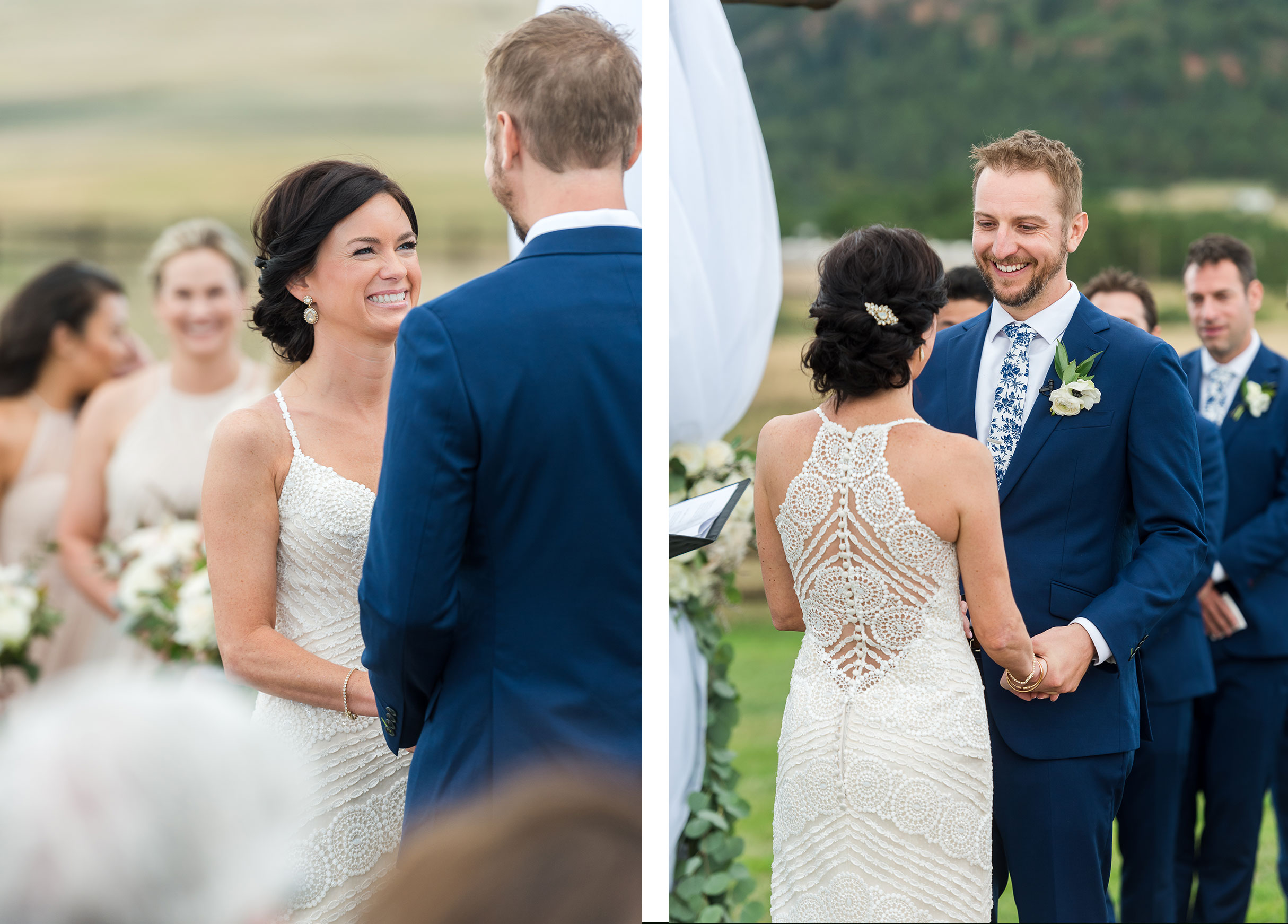 Mountain ceremony | Luxe Mountain Weddings