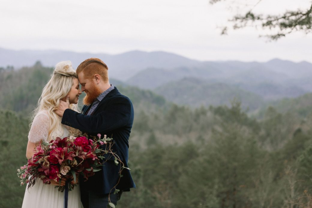 Great Smoky Mountains National Park Wedding Inspiration