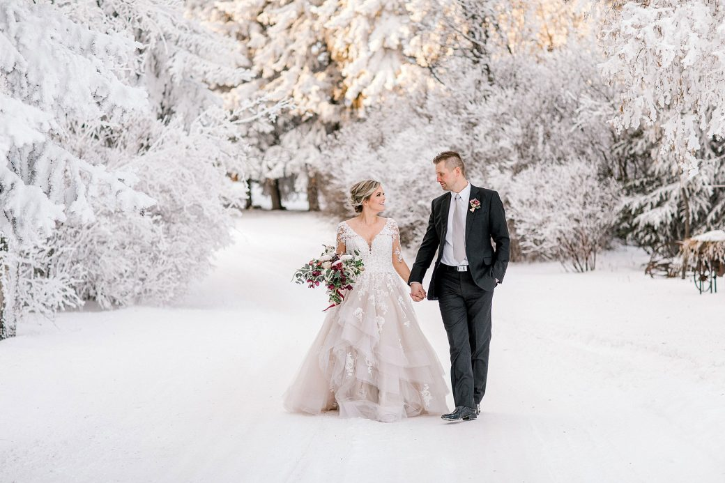 Winter wedding inspo