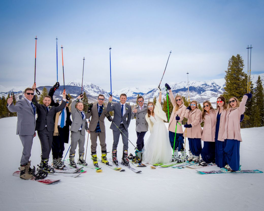 Crested Butte Ski Resort Wedding
