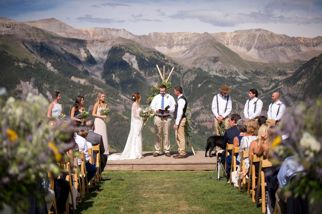 Ski Resort Mountain Wedding in Telluride, Colorado