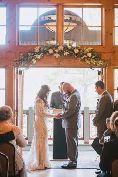 Ceremony at the Silverthorne Pavilion
