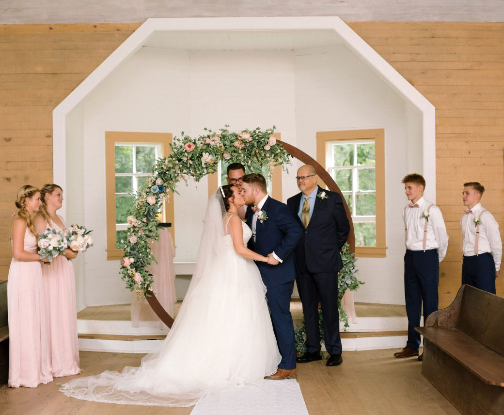 Cades Cove Church Wedding in Tennessee