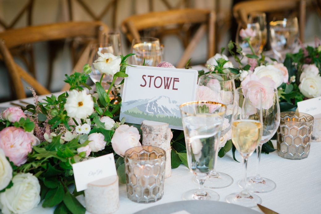 A Romantic Flower Filled Ski Resort Wedding