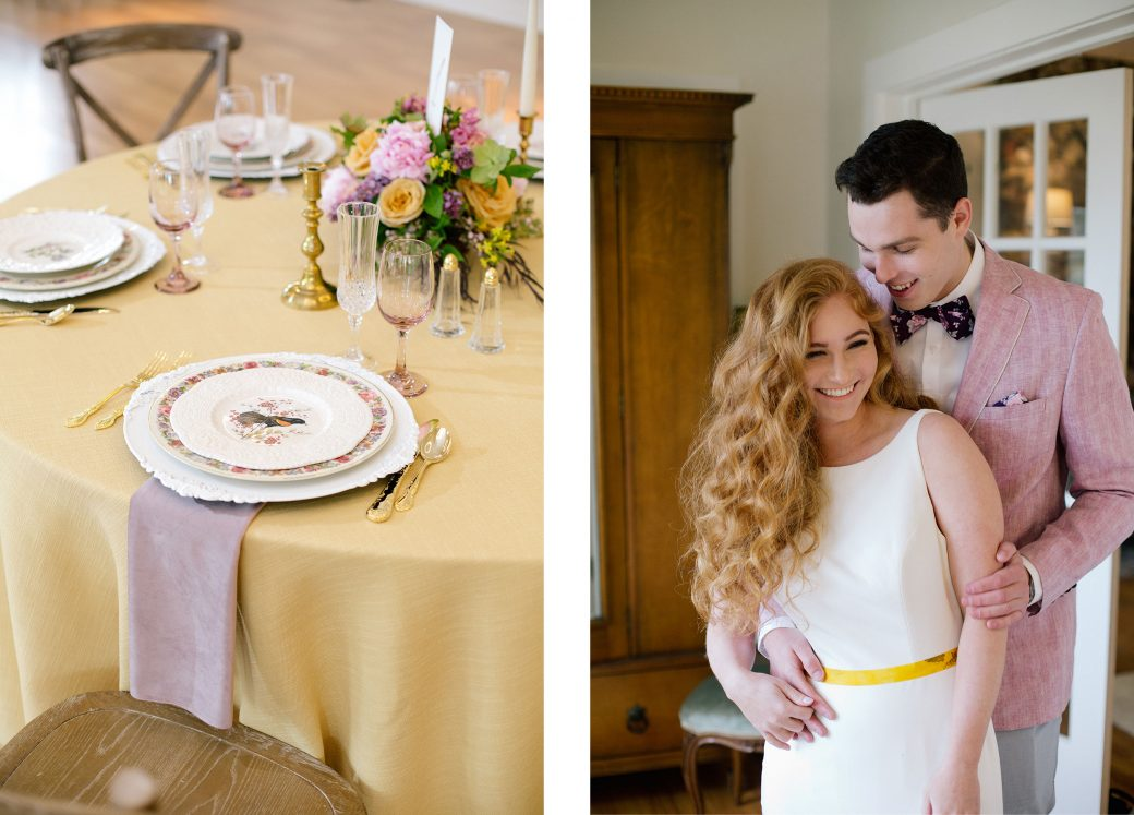 A vintage farm house styled shoot in Colorado