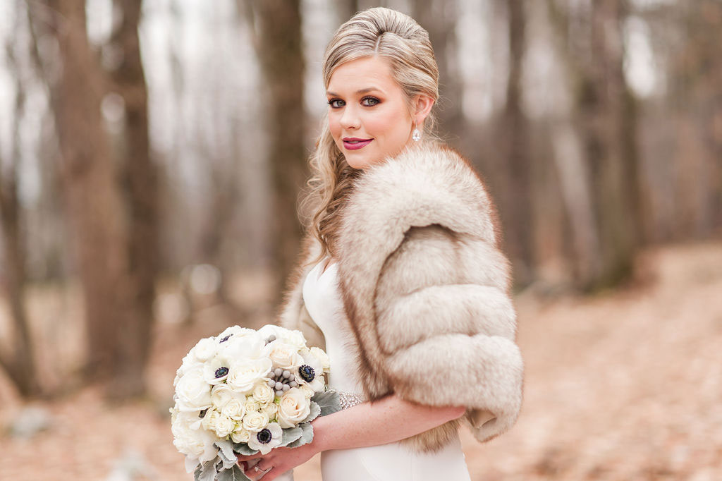 Bride | New Years Eve Wedding in Vermont