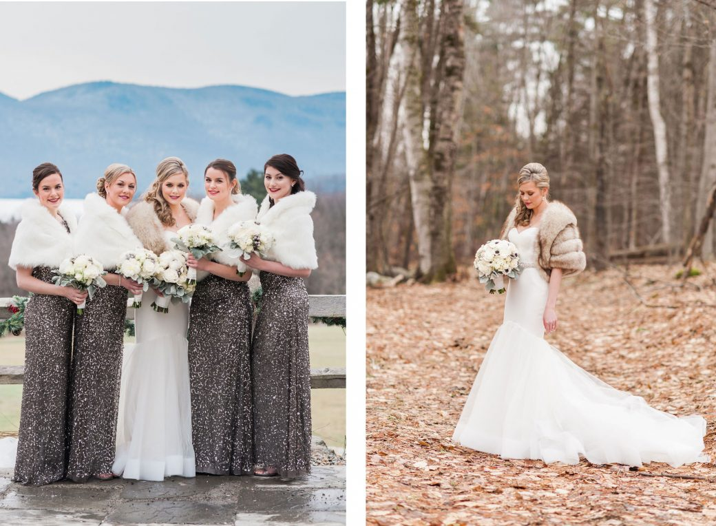 Bridesmaids | New Years Eve Wedding in Vermont