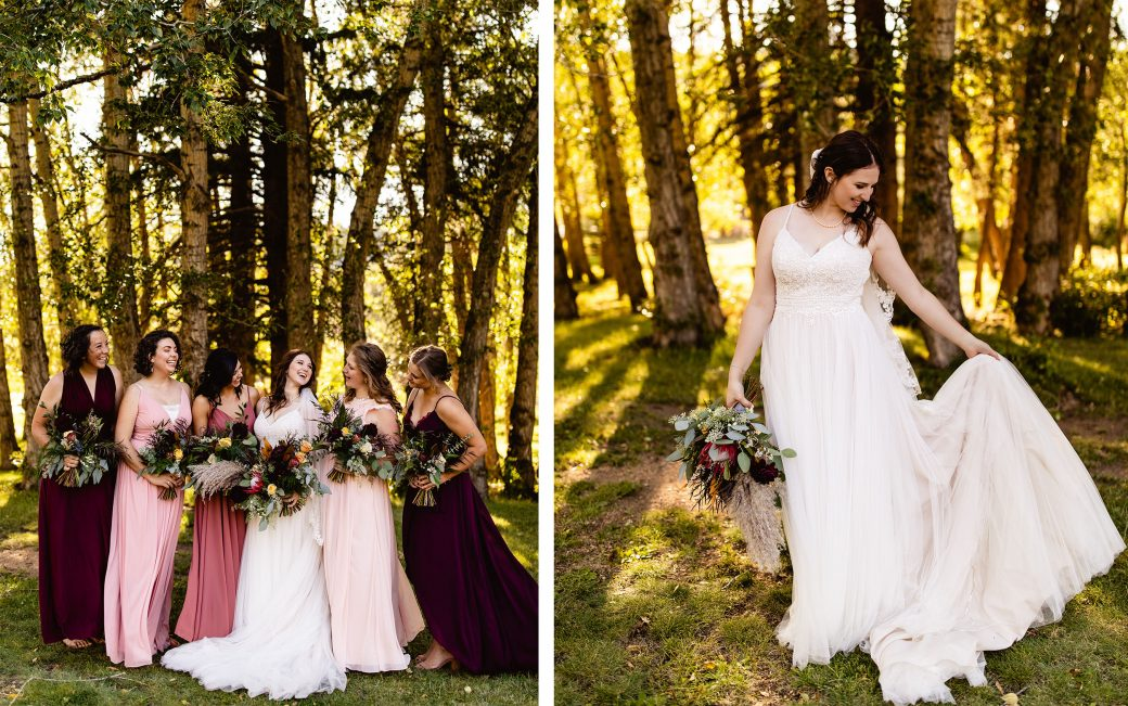 Bridesmaids in Colorado