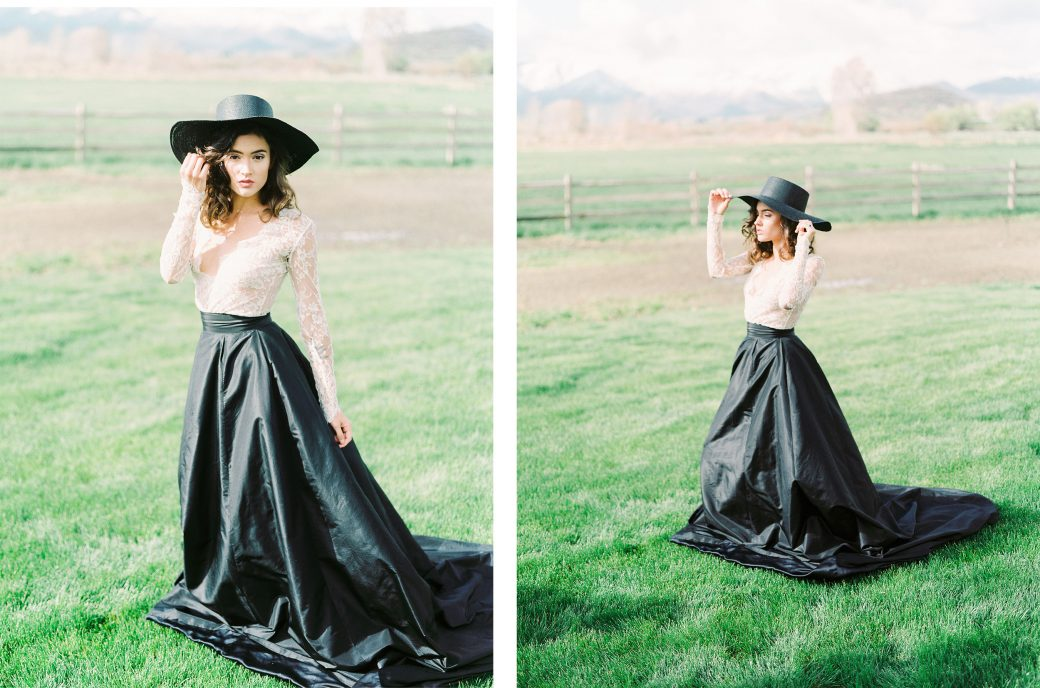 Styled Bride in Utah
