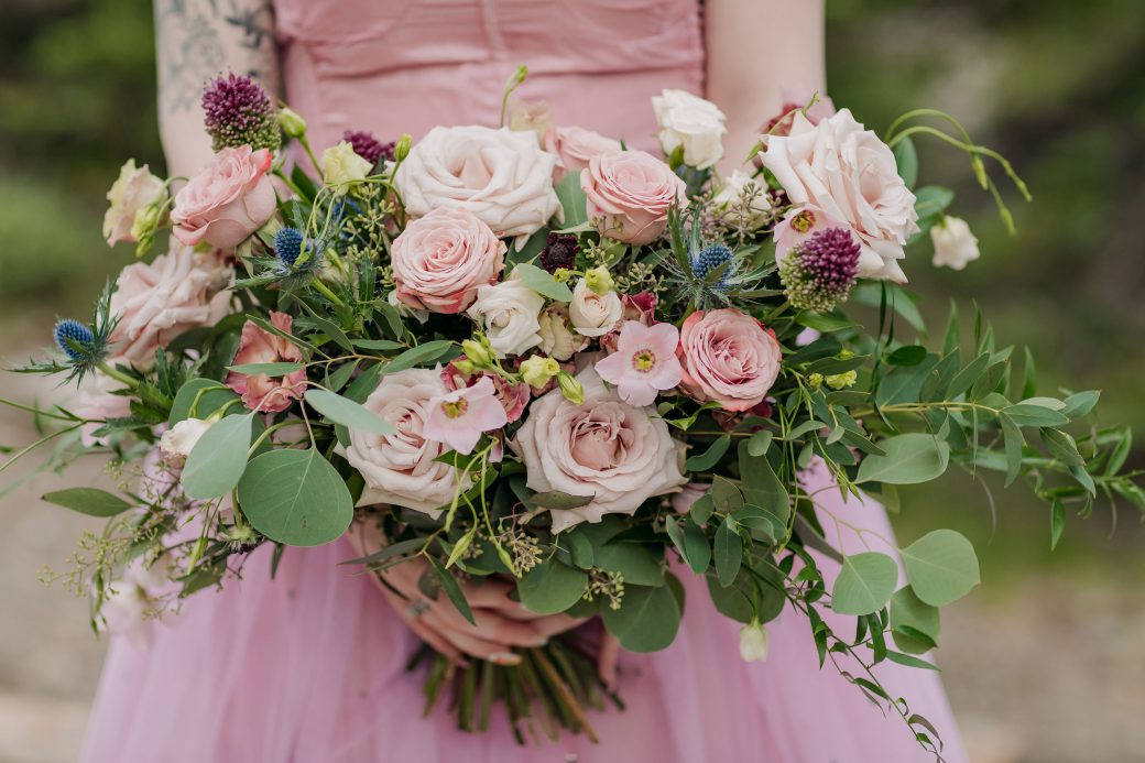 Wedding bouquet by Willow Flower Company