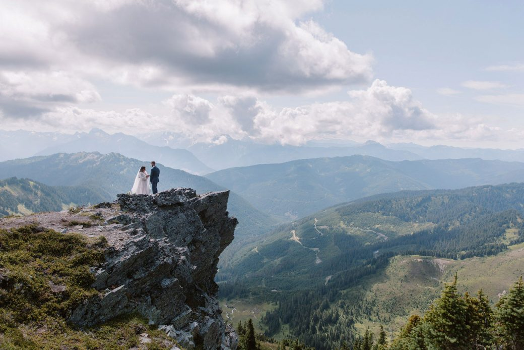 Mountain Elopement in Vancouver