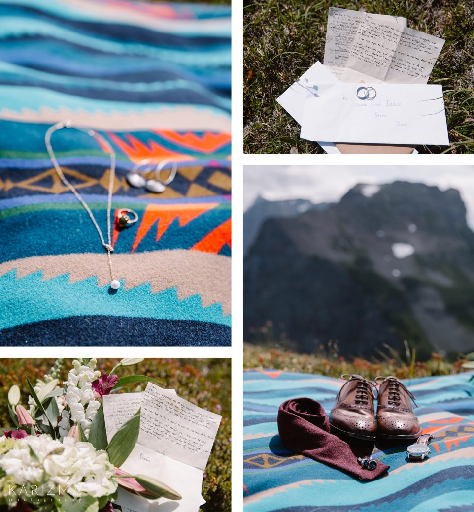 Mountain Elopement details