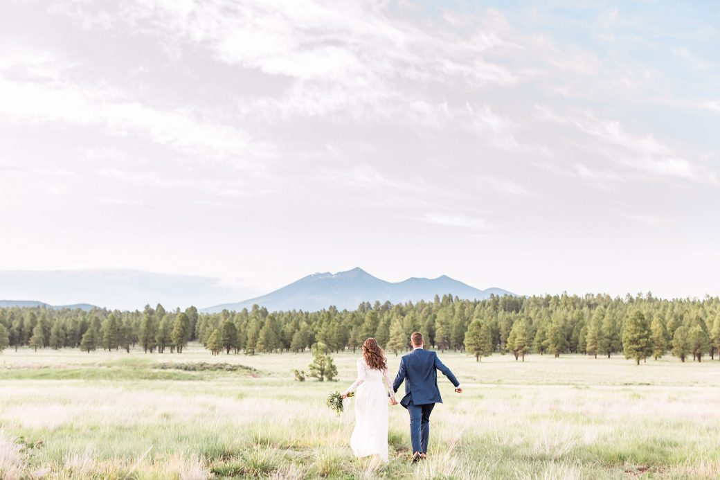 A Flagstaff Arizona Wedding In The Woods