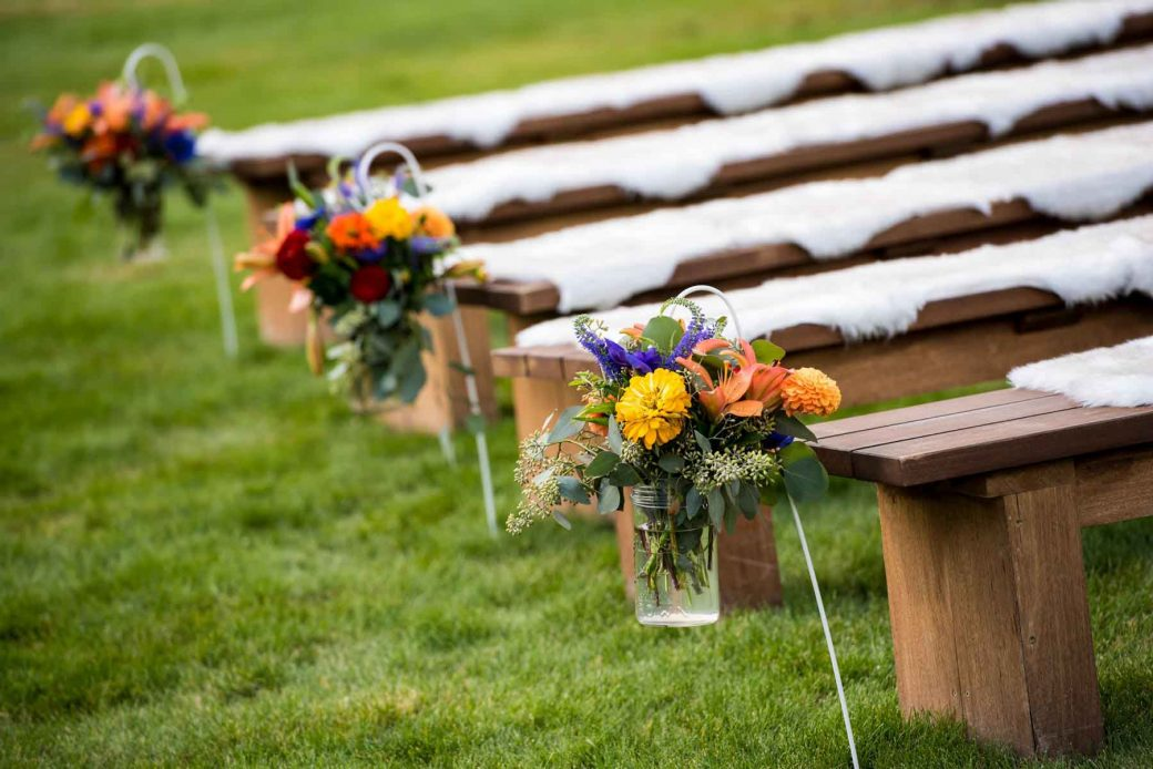 Wedding Ceremony at Idaho Rocky Mountain Ranch
