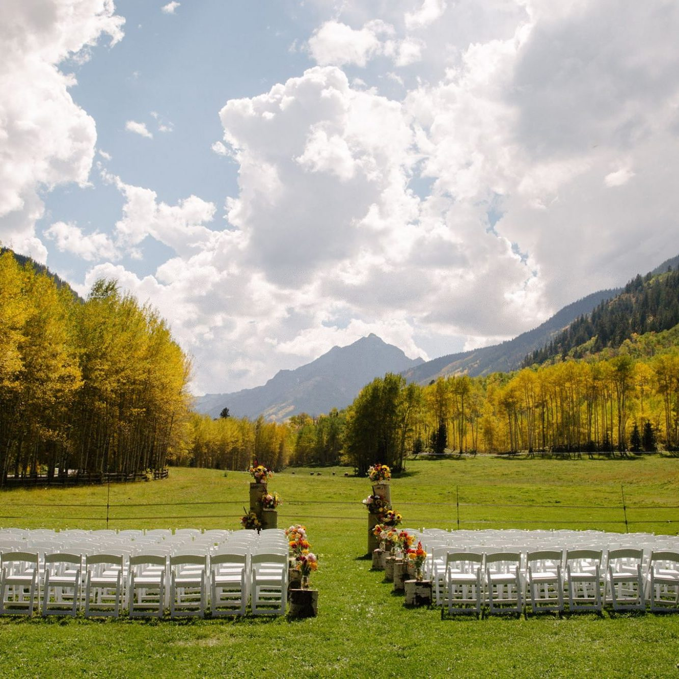 T Lazy 7 Ranch - Aspen, Colorado - Rocky Mountain wedding venue