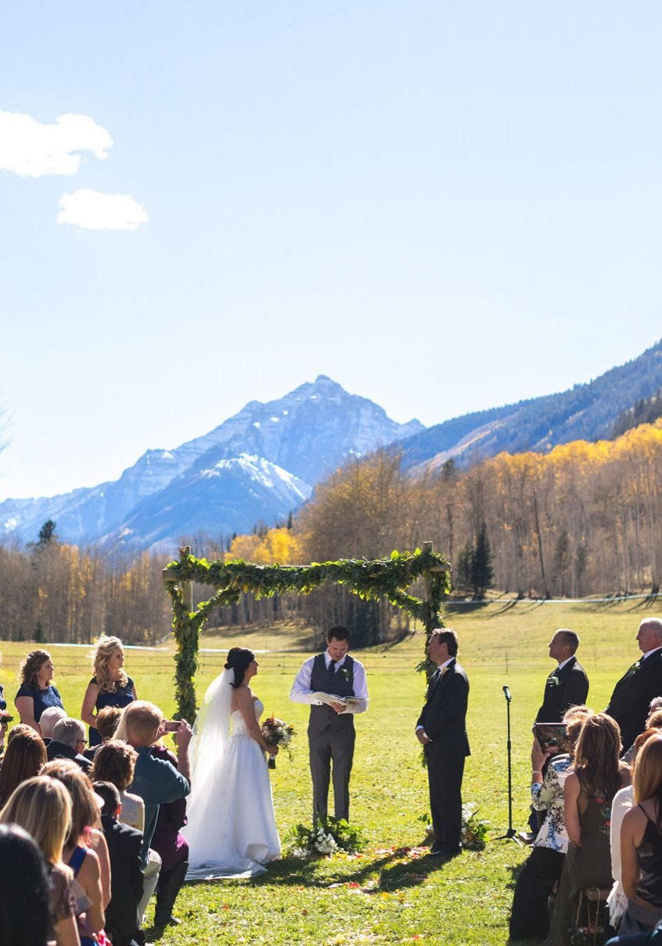 A Fun Aspen Wedding at T Lazy 7 Ranch